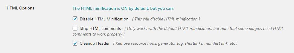 FVM Konfiguration - Teil 3 - HTML Optionen