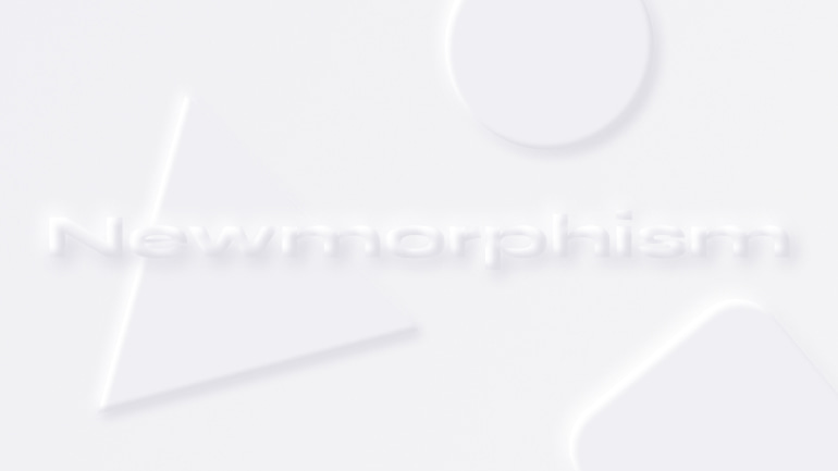 3 UI Design Trends im Check – Teil 1: Newmorphism
